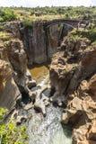 Bourkes szczęścia wybojów krajobrazowy widok, Południowa Afryka Zdjęcie Royalty Free