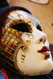 Bourlesque mask with decorations, in Venice, Italy Royalty Free Stock Image