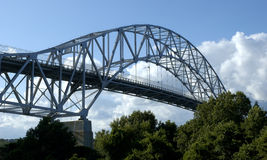 Bourne Bridge. A photo of the Bourne Bridge, in Cape Cod MA Stock Images