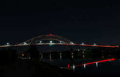 Bourne Bridge, Cape Cod Canal Royalty Free Stock Photography