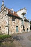 Bourne-Mühle Colchester Essex im Porträtaspekt Stockbild