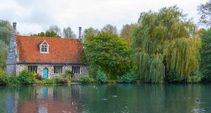old mill Colchester essex UK Royalty Free Stock Images