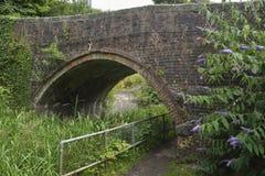 Bourne-Verschluss-Brücke Stockfoto