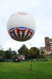 Bournemouth Balloon. In the town centre gardens Stock Photos