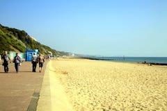 Bournemouth bay, Dorset. Stock Photos