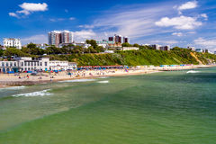 Bournemouth Beach Dorset Stock Images