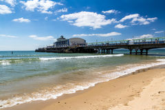 Bournemouth Beach Dorset Royalty Free Stock Photos