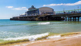 Bournemouth Beach Dorset. Bournemouth Beach and Pier Dorset England UK Europe Stock Image