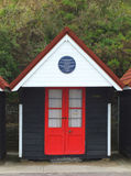 Bournemouth beach hut Royalty Free Stock Photo