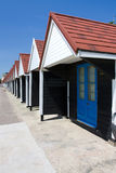Bournemouth Beach Huts Royalty Free Stock Photography