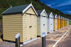 Bournemouth Beach Huts Royalty Free Stock Image