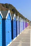 Bournemouth Beach huts Stock Image