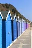 Bournemouth Beach huts Stock Image