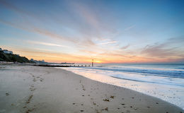 Bournemouth Beach Royalty Free Stock Images