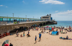 Bournemouth beach Royalty Free Stock Photography