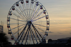Bournemouth Big Wheel. Big Wheel Bournemouth Christmas 2016 Royalty Free Stock Photography