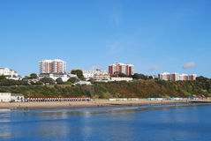 Bournemouth Eastcliff Royalty Free Stock Photos