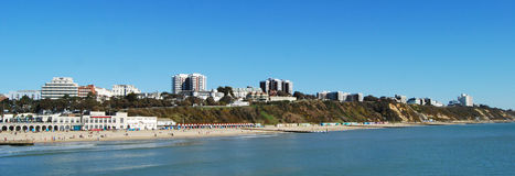 Bournemouth Eastcliff Arkivbilder