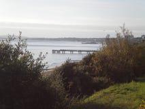 Bournemouth, embarcadero de Boscombe Fotos de archivo libres de regalías
