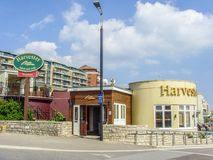 Harvester Restaurant and Pub stock image