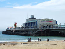 Bournemouth Pier. The Pier at Bournemouth, Dorset. June 2012 Royalty Free Stock Image