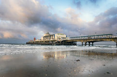 Bournemouth Pier. The pier at Bournemouth in Dorset Stock Photos