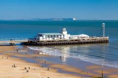 Bournemouth Pier Dorset Imágenes de archivo libres de regalías