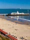 Bournemouth Pier Dorset Lizenzfreie Stockbilder