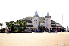 Bournemouth pier, Dorset. Royalty Free Stock Photography