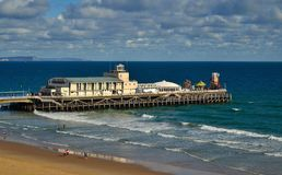 Bournemouth pier. South England. Image taken early September Royalty Free Stock Photos