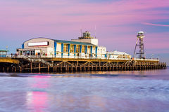 Bournemouth pier sunset Stock Photo