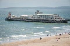Bournemouth pir Royaltyfria Bilder