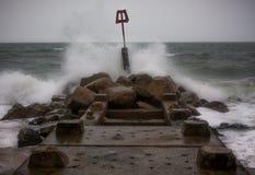 Bournemouth plaża zdjęcie royalty free