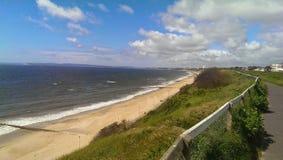 Bournemouth plaża Zdjęcie Stock