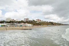 Bournemouth Seafront, Dorset Stock Photography