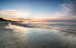 Bournemouth Sunrise Stock Photography