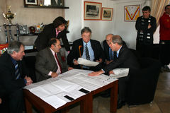 bourquin freche francuski polityk s Zdjęcie Stock