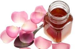 Bourrage de pétales de Rose images stock