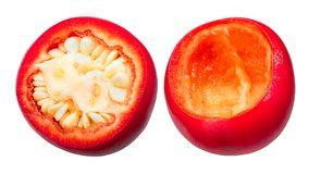 Bourrage des poivrons de cerise alascony de Kalocsai Images stock