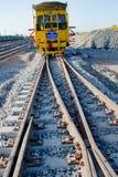 Bourreur de rail image libre de droits