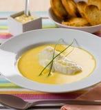Bourride-Fischsuppe Lizenzfreie Stockfotos