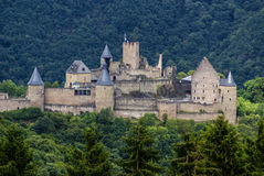 Bourscheid Castle in Luxembourg Stock Images