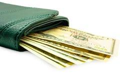 Bourse avec le dollar Images libres de droits