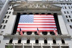 Bourse de New York image libre de droits