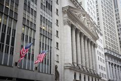 Bourse de New York Photos libres de droits