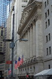 Bourse de New York, Wall Street Images libres de droits