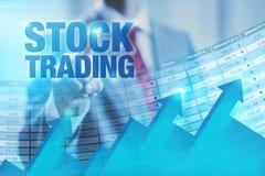 Bourse des valeurs image stock