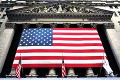 Bourse des valeurs de New York Wall Street Photo libre de droits