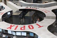 Bourse des valeurs de Tokyo (EST) Images stock