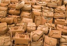 Bourse en cuir au Mexique Image libre de droits